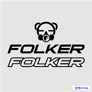 Folker Bike Logo Vector cdr