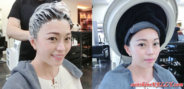 Korean Gel Perm, K-Pak Hair Repair Treatment, Winson Kow Hairtistic