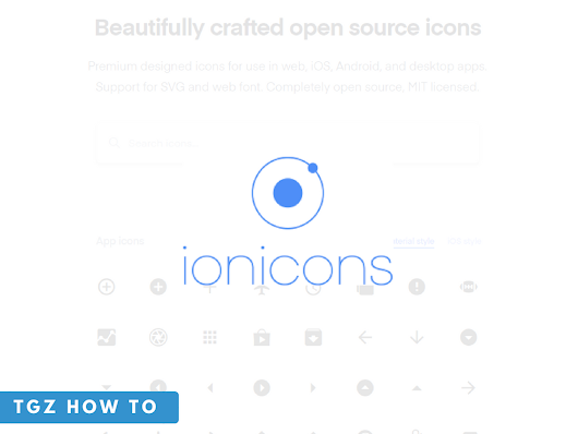How to use Ionicons in Web Page | One of the best Free Icons for Commercial Purpose