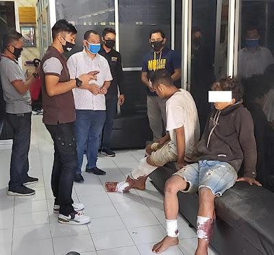 Dua Kaki Dua Residivis Curanmor Ditembak Polisi