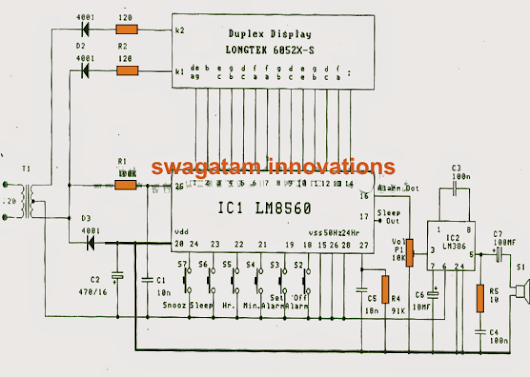 Simple Digital Clock Circuit Explained The computerized time clock