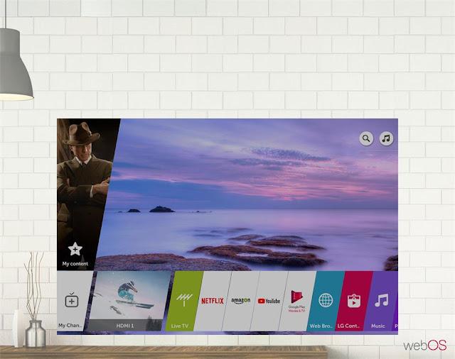Smart Tivi LG 4K 75 inch 75SK8000PTA