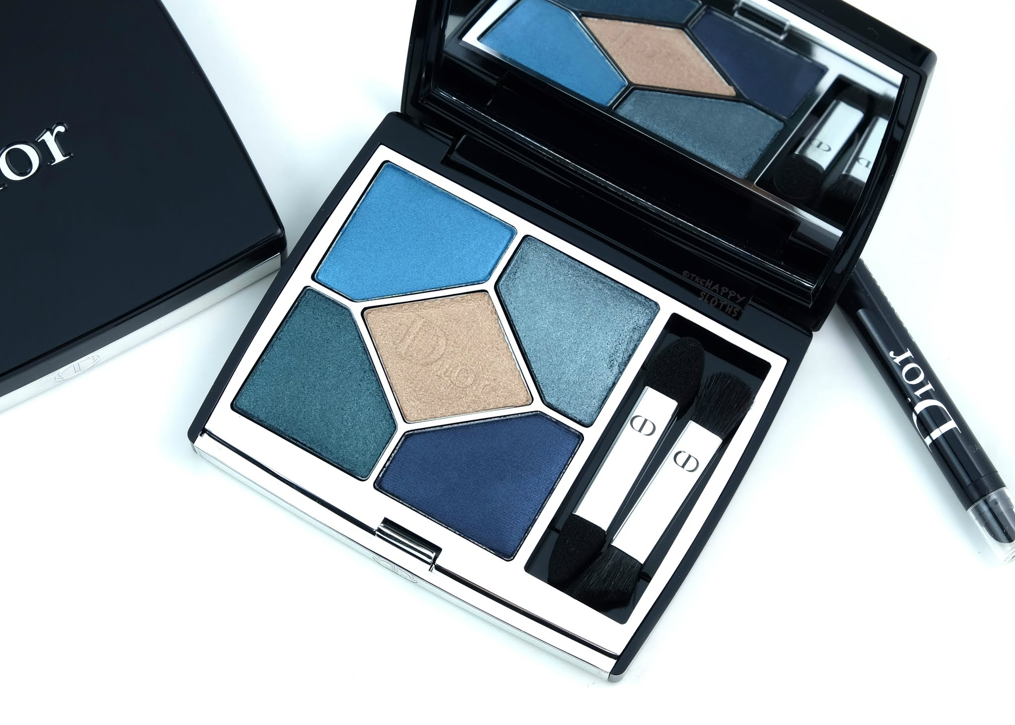 "Dior | 5 Couleurs Couture Eyeshadow Palette in ""279 Denim"": Review and Swatches"