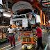 Atividade industrial cai em maio, mas está acima de antes da pandemia
