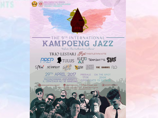 Kampoeng Jazz 29 April 2017 di Unpad Dipatiukur