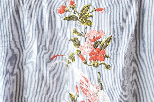 Košile s výšivkou