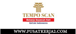 Lowongan Kerja Terbaru SMA SMK D3 S1 Juni 2020 PT Tempo Scan Pacific