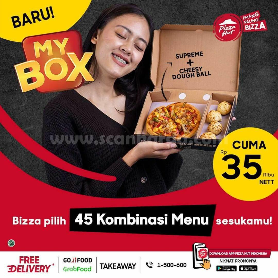 Promo PIZZA HUT Terbaru - Beli MyBox harga cuma Rp. 35Rb nett