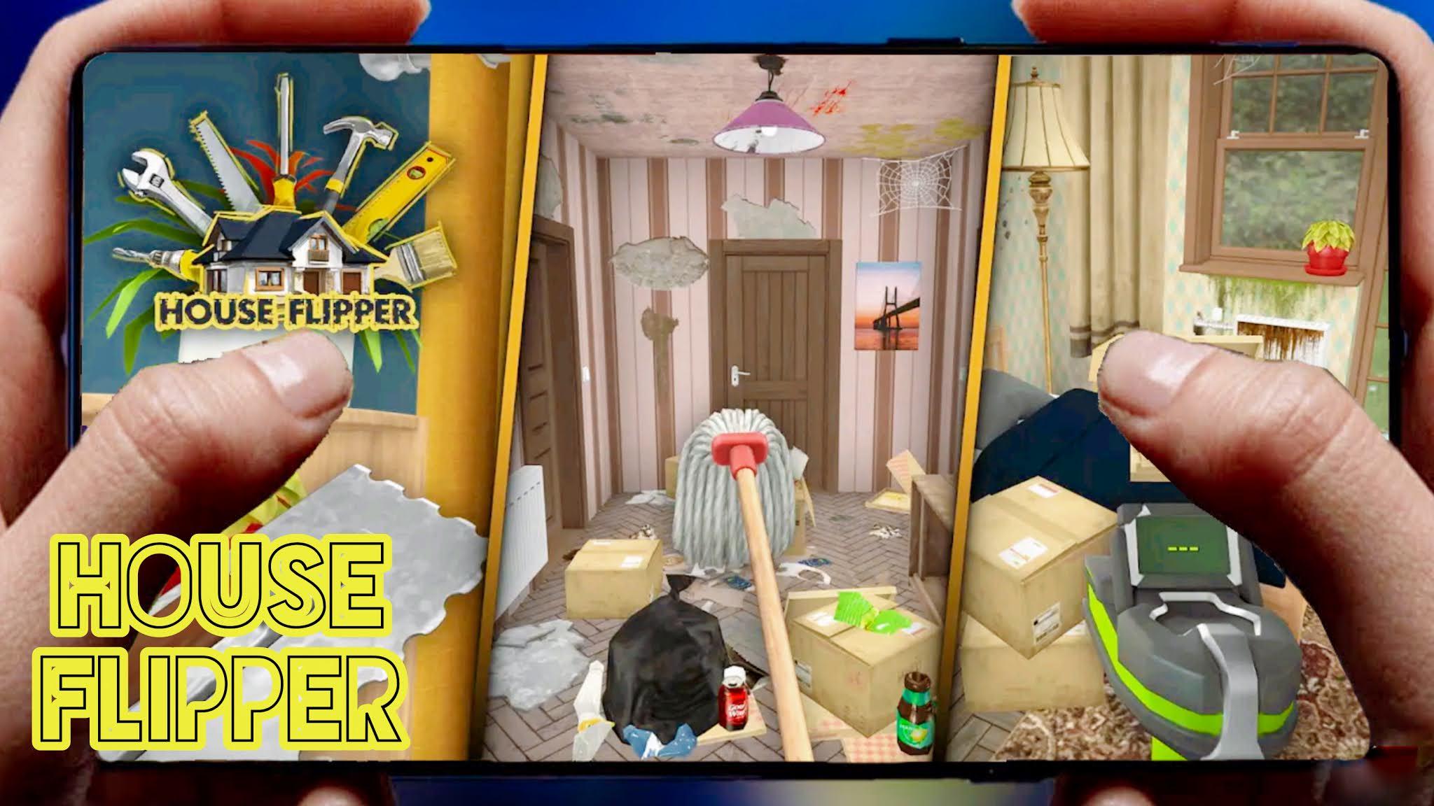 أخير لعبة House Flipper تم تنزيلها على Google paly جرافيك رهيب +HD