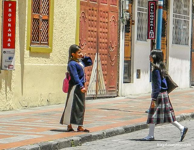 Trajes tradicionais da província de Imbabura, Equador