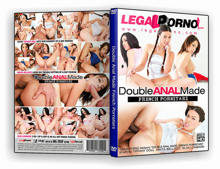 CAPA DVD – Double Anal Made French Pornstars xxx 2019 – ISO