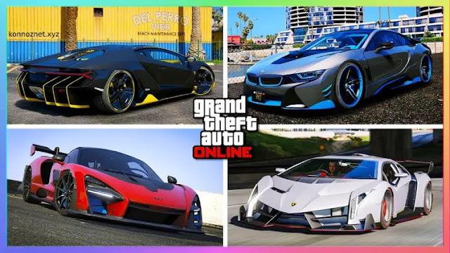 أسرع سيارات GTA 5