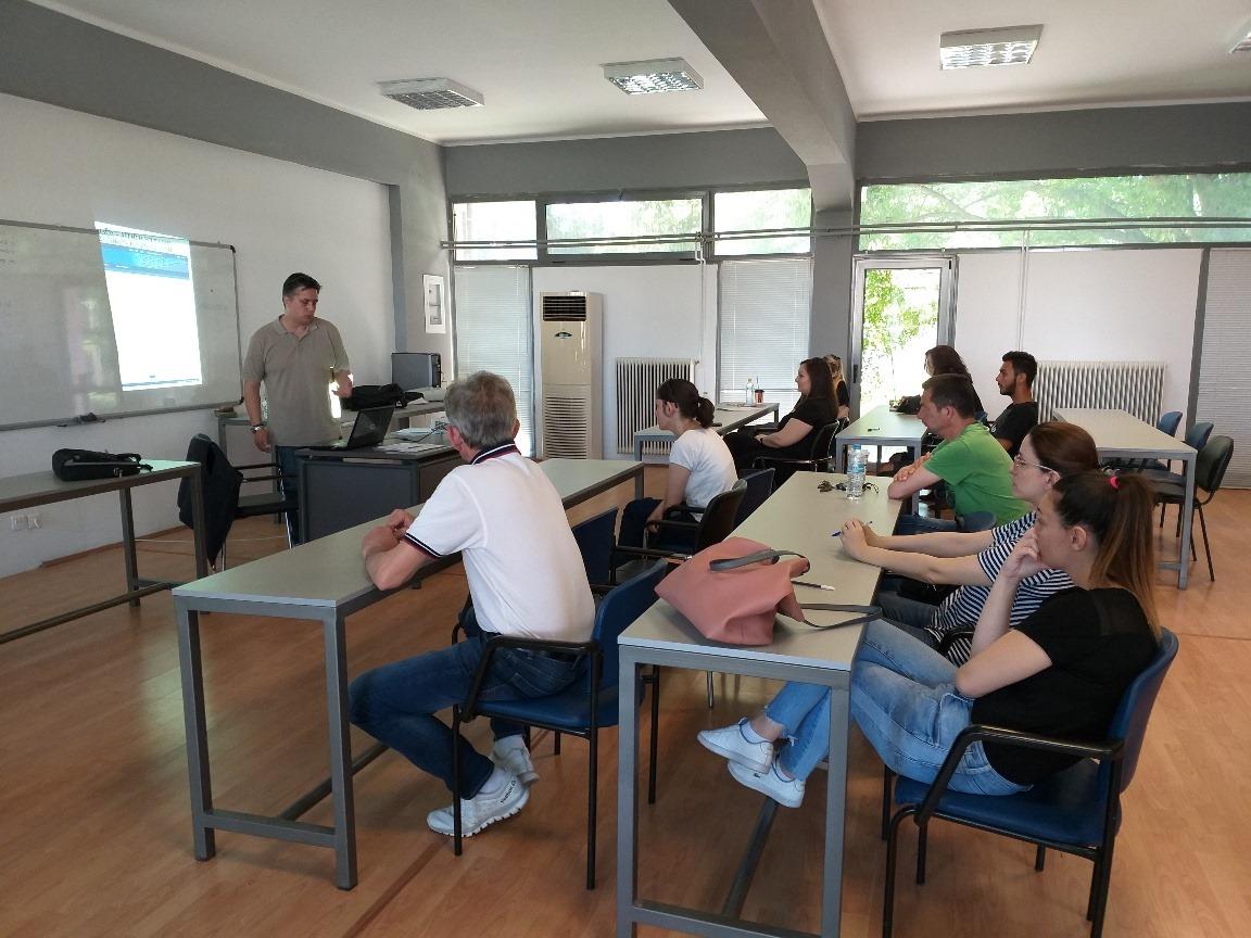 Με επιτυχία το ομαδικό εργαστήριο του Κέντρου Κοινότητας Δήμου Τυρνάβου