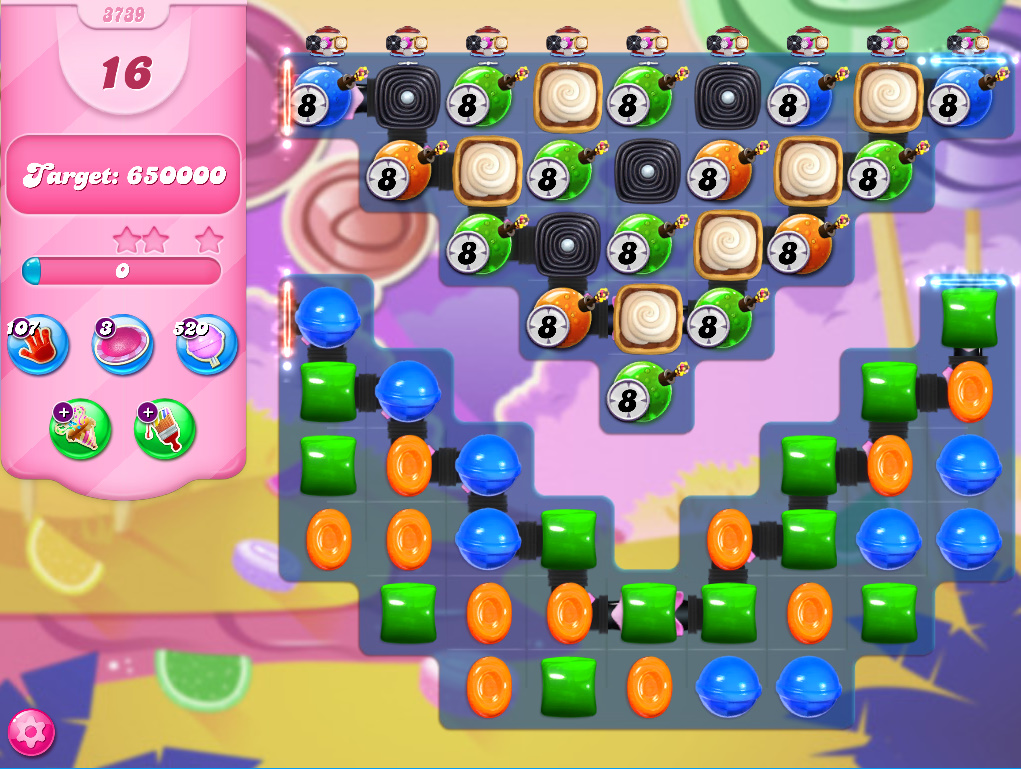 Candy Crush Saga level 3739