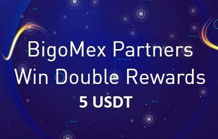 BigoMex 5 USDT Crypto No Deposit Bonus