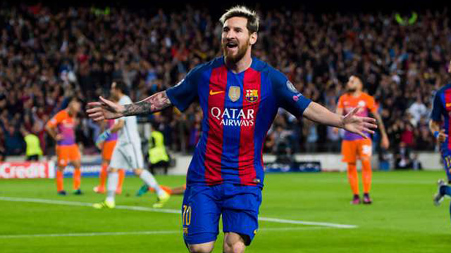 [Video] Cuplikan Gol Barcelona 4-0 Manchester City (Liga Champions)