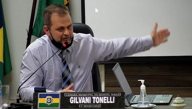 MANOEL RIBAS: CONSTRUÇÃO DO PARQUE MUNICIPAL FOI ABORDADO DURANTE SESSÃO