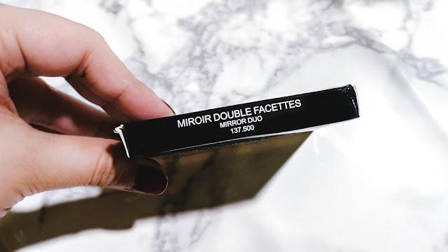 Chanel Miroir Double Facettes Mirror Duo, Chanel Miroir Double Facettes Mirror Duo review, chanel mirror review, chanel compact mirror, chanel compact mirror review, my first chanel