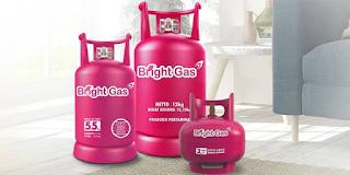 Jenis tabung gas Bright Gas
