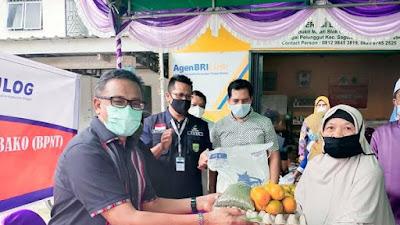 Pemko Batam Mulai Salurkan Sembako dari Pemerintah Pusat Senilai Rp 200 ribu