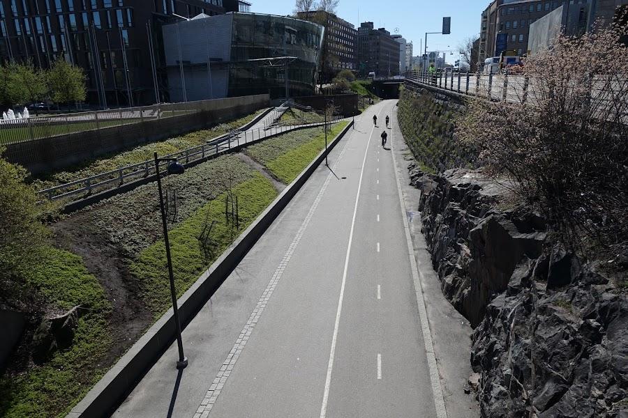 自転車道(Baana)