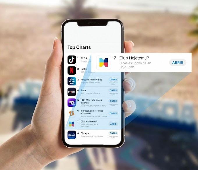 Aplicativo de João Pessoa se torna o 7º app mais baixado do Brasil