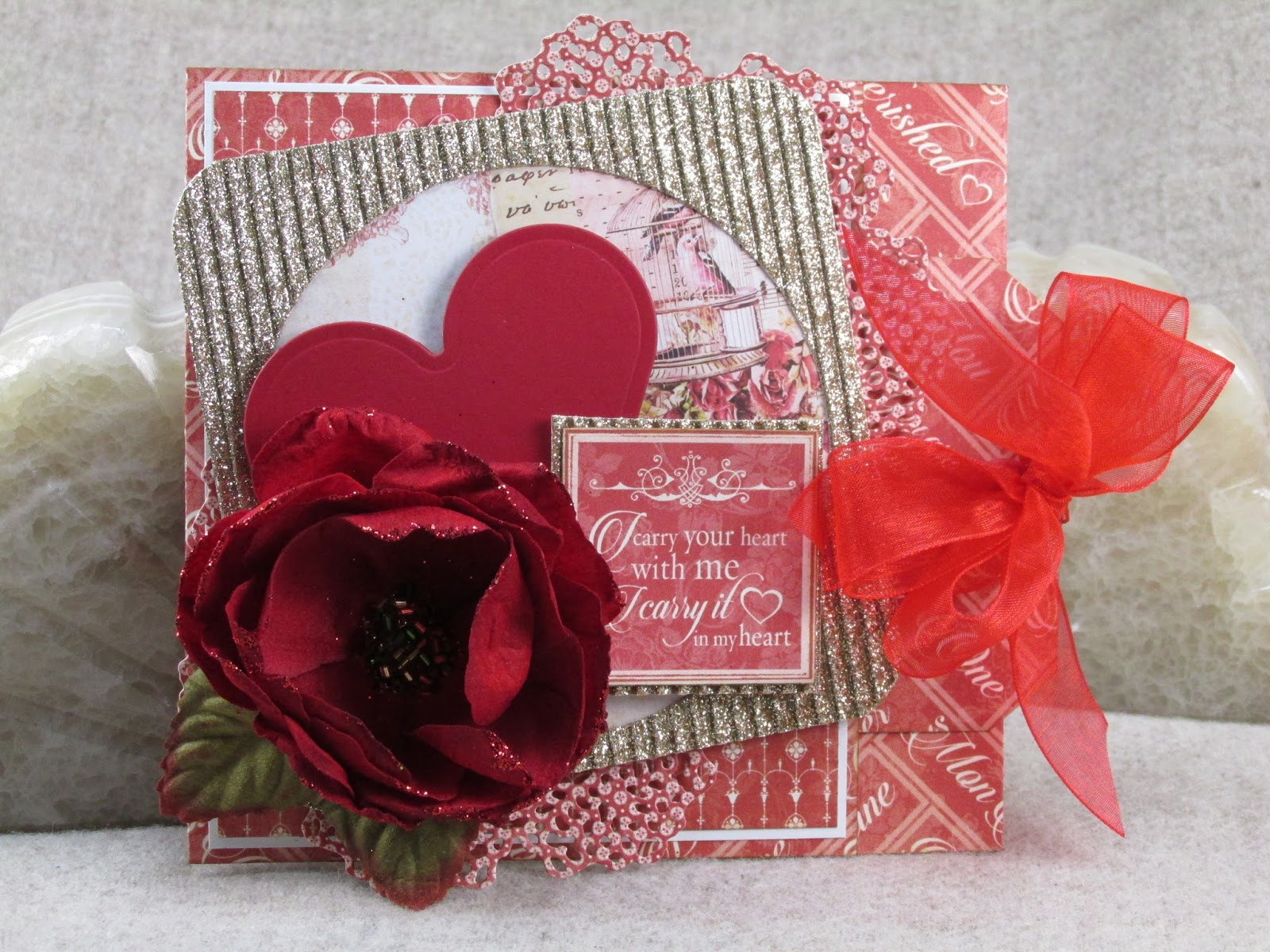 Hands to Work... Heart to Love: I Carry Your Heart Valentine Pocket Card
