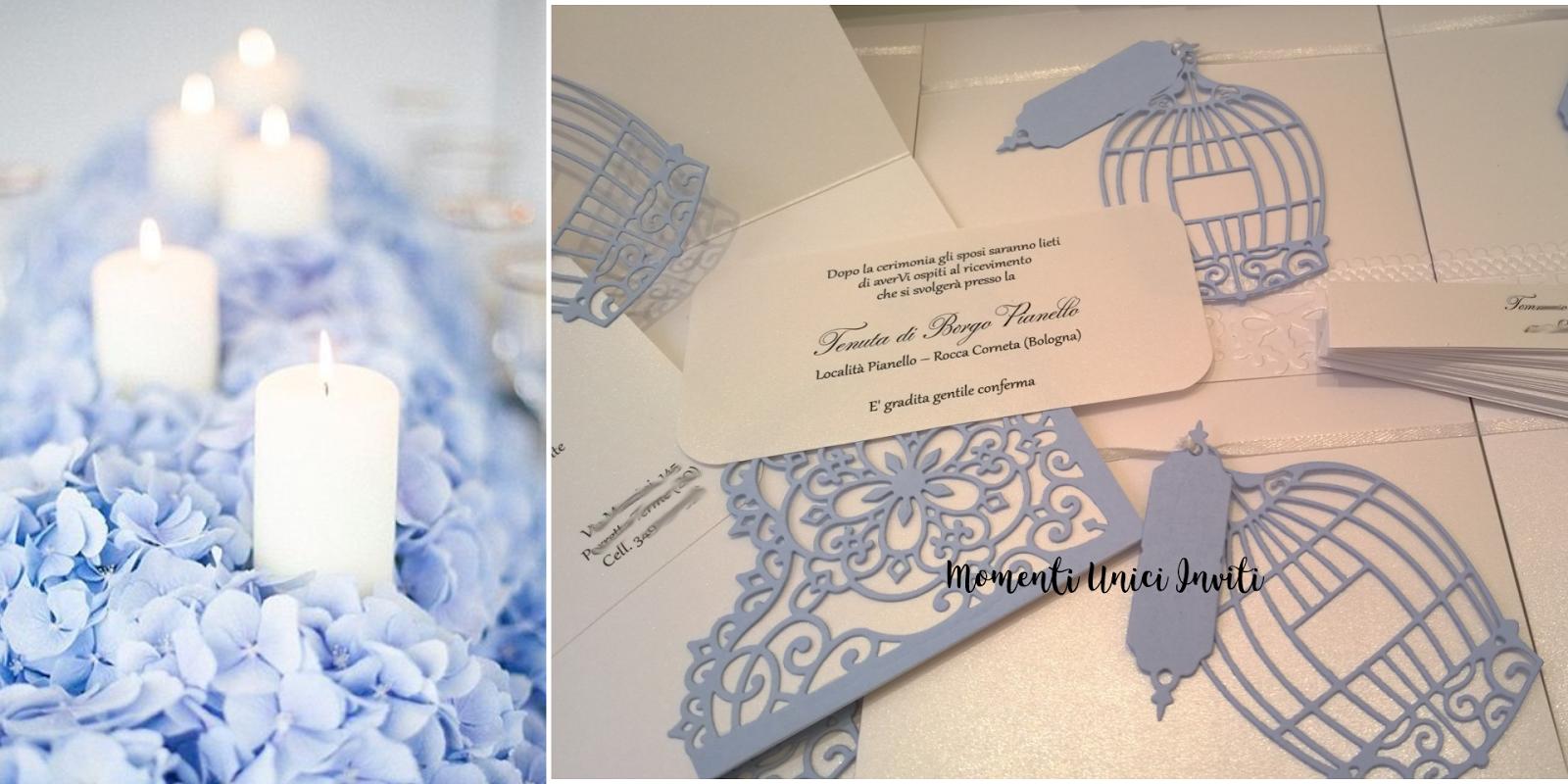 Partecipazioni Matrimonio Azzurro : Le partecipazioni con la gabbietta momenti unici inviti