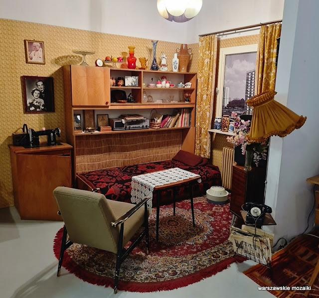 pokój Warszawa Warsaw plac Konstytucji muzea warszawskie muzeum PRL Piękna sentyment