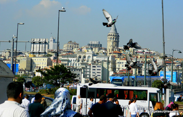 Ponte e Torre de Gálata, Istambul