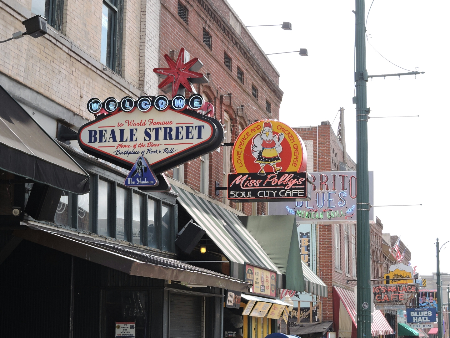 Memphis, Tennessee Beale Street