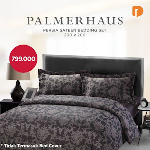 Palmerhaus Persia Sateen Bedding Set 200 X 200 cm