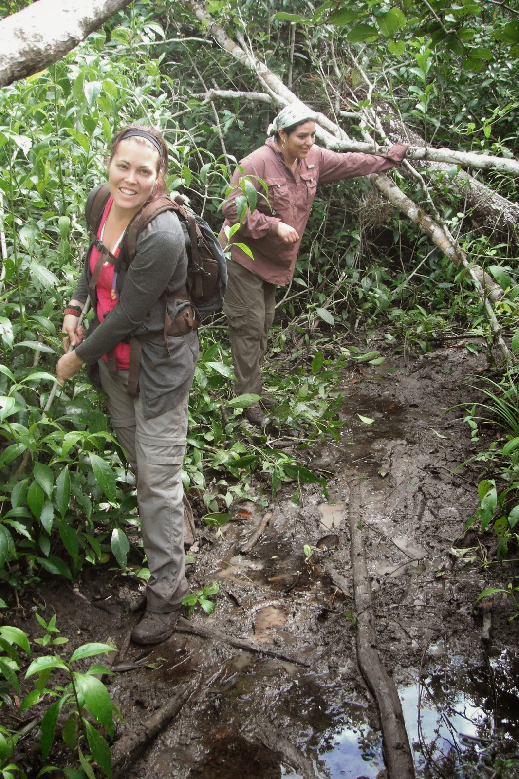 Trekking in El Mirador, Guatemala