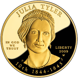 US Gold Coins  Julia Tyler First Spouse 10 Dollars Gold Coin