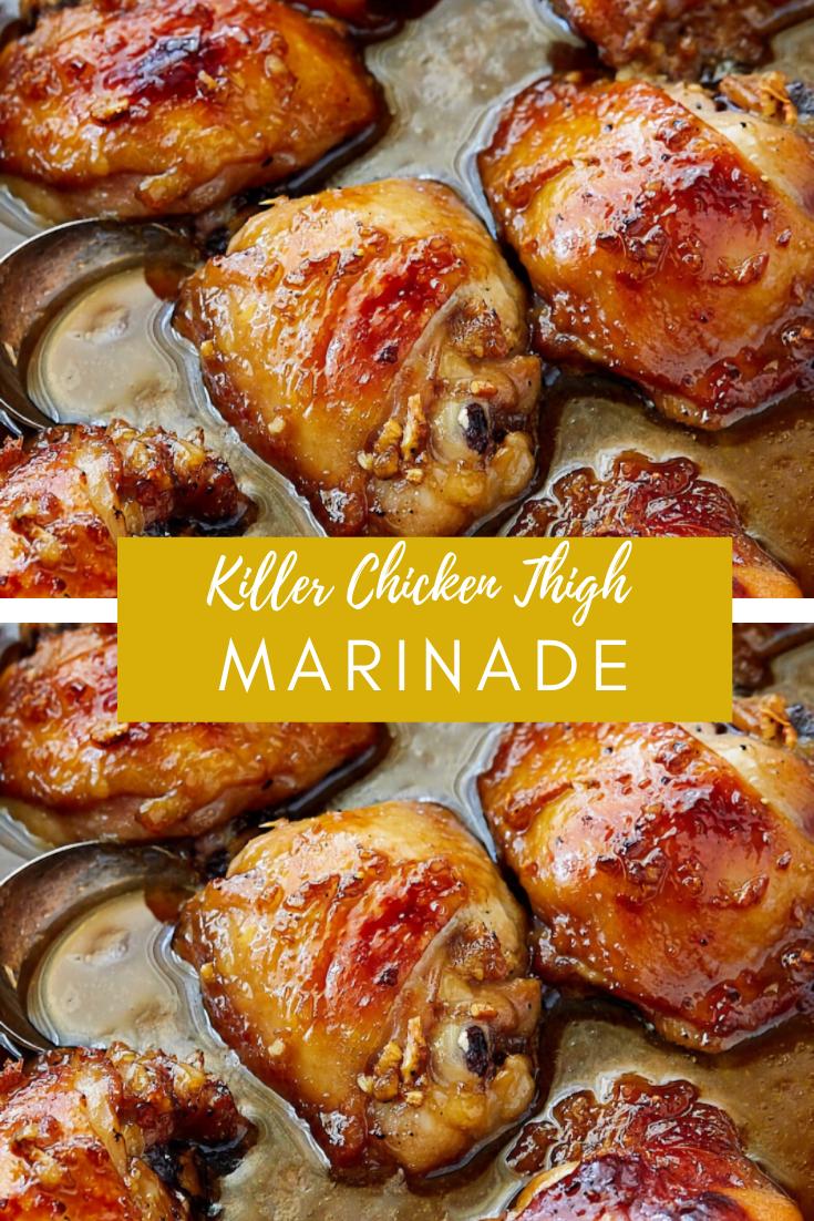 #Yummy #Killer #Chicken #Thigh #Marinade #Dinner