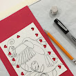 """Valentine Humming Bird Card Day Two"""