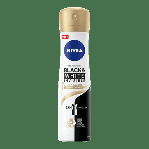 Antyperspirant NIVEA BLACK & WHITE INVISIBLE  SILKY SMOOTH {recenzja}