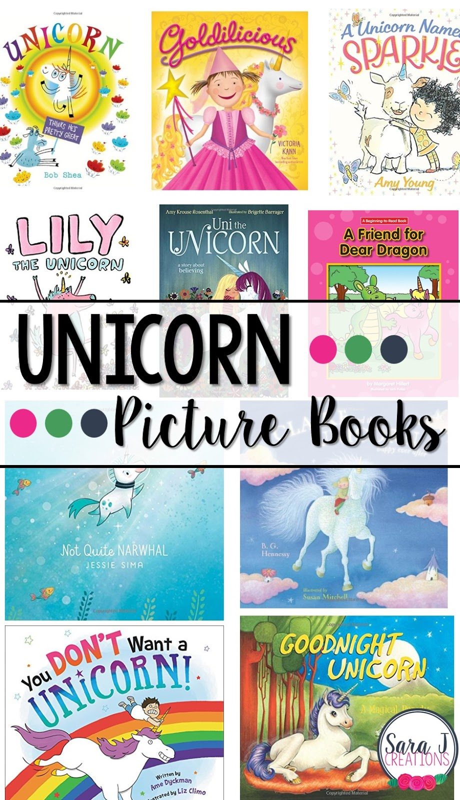 10 of our favorite unicorn picture books