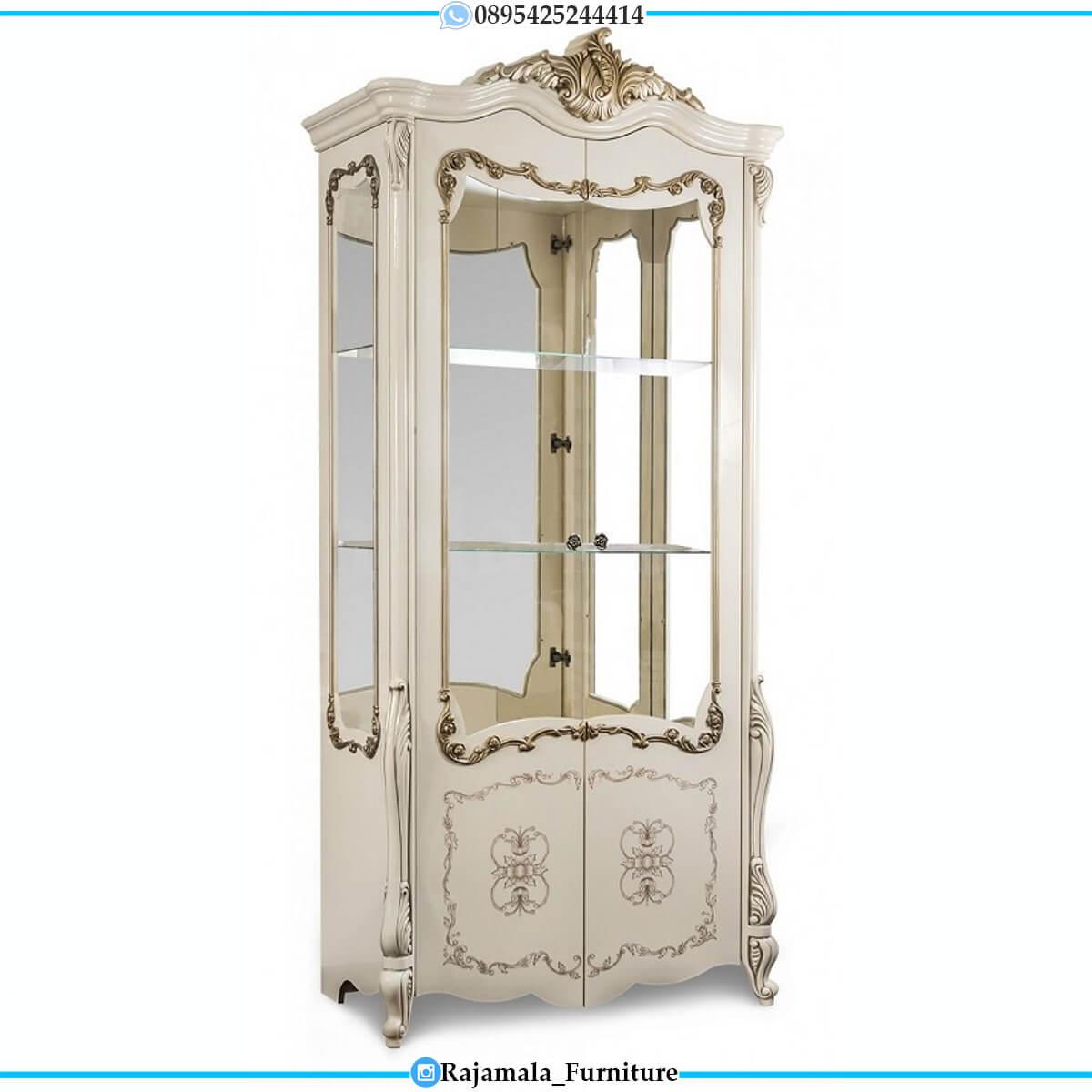 New Lemari Pakaian Mewah Putih Duco Excellent Color RM-0678