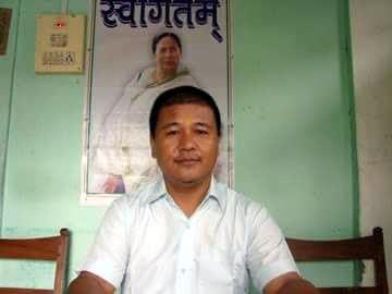 TMC Hills president Rajen Mukhia