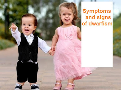 Symptoms and signs of dwarfism
