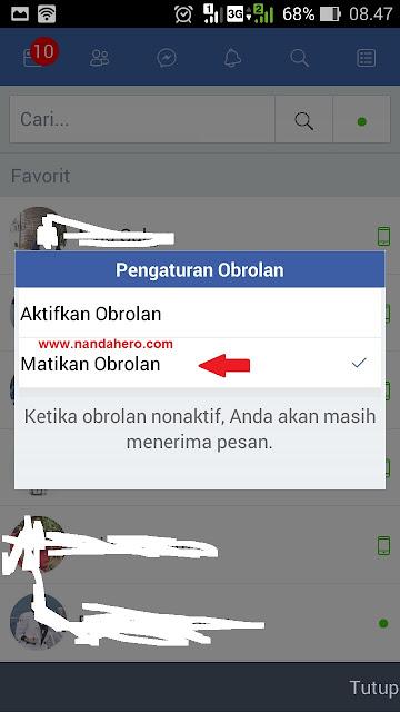 Cara Agar Terlihat Offline di Facebook Lite Tutorial Agar Terlihat Offline di Facebook Lite dengan Gampang