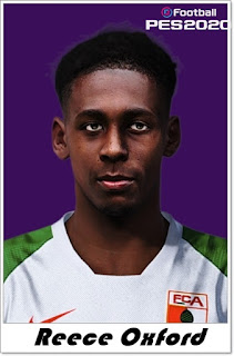 PES 2020 Faces Reece Oxford by Shaft