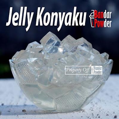 Jual Bubuk Jelly Konyaku Powder Murah Kiloan