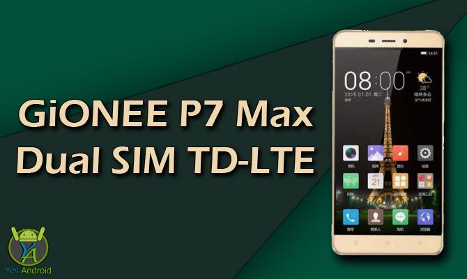 GiONEE P7 Max Dual SIM TD-LTE Full Specs Datasheet