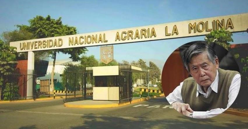 UNALM: Universidad Agraria La Molina omitió información sobre pensión de Fujimori, informó el Ministerio de Justicia