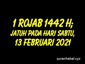 Jadwal Puasa Sunnah Bulan Rajab 2021 Al Qur An Hebat