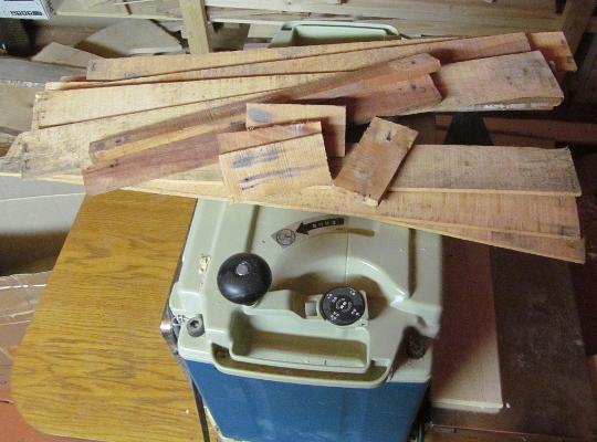 заготовка материала для поделок из дерева
