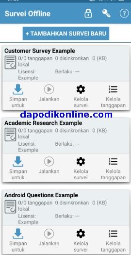 Cara Download-Instal Aplikasi Offline Surveys di HP