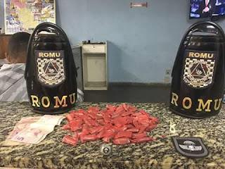 ROMU JANDIRA - Mais um traficante de drogas preso